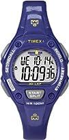 Timex Women's T5K6879J Ironman Traditional 30-Lap Glimmer Mid-Size Twilight Purple Resin Strap…