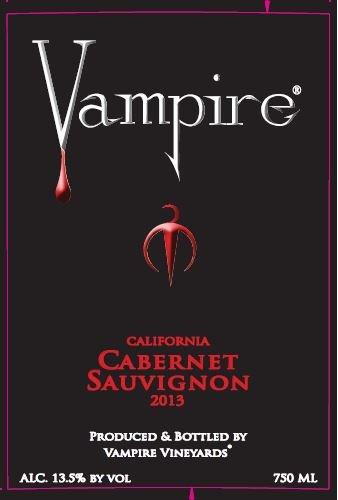 2013 Vampire Cabernet Sauvignon 750 Ml