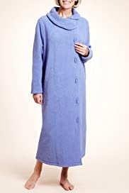 Side Pockets Duffle Dressing Gown [T37-2164-S]