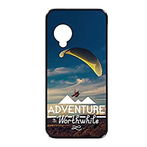 Vibhar printed case back cover for Nexus 5 Worthwhile