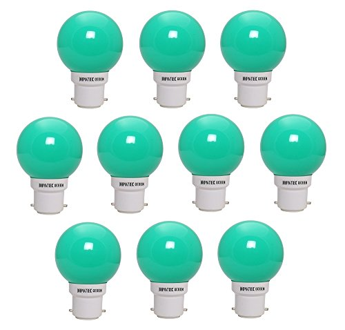 NOVATEK-GREEN-0.5W-LED-Bulbs-(Green,-Pack-of-10)