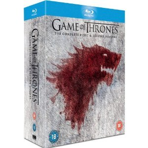 Game of Thrones Season 1-2 Blu Ray by Warner Brothers