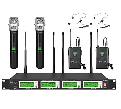 GTD Audio G-787HL UHF Diversity Wireless Microphone Lapel Lavaliere Mic by GTD Audio Inc