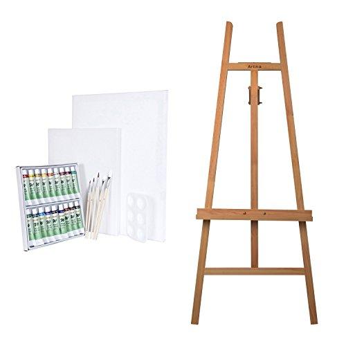 artina-ensemble-de-peinture-chevalet-sevilla-en-bois-de-hetre-set-de-peinture-aquarelle