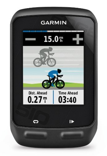 Garmin Edge 510 Gps Bike Computer With Heart Rate Monitor And Gsc 10 Speed/Cadence Sensor front-709503