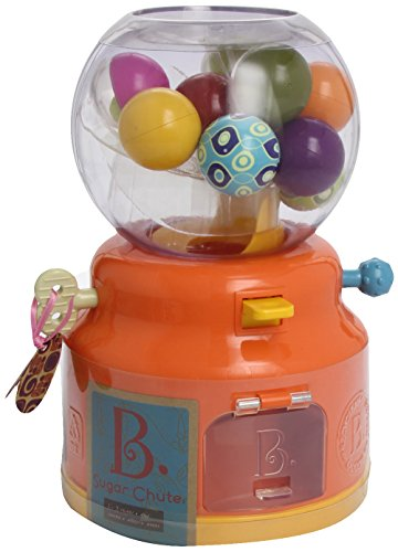 B. Sugar Chute Gumball Machine Toy (With 12 Balls) (Colors May Vary)