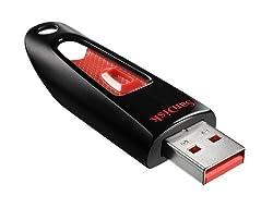 SanDisk Ultra 8GB USB 2.0 Pen Drive (Black)
