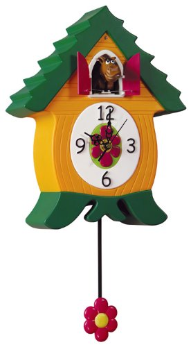 Headup Design Co. - Whinnycoo Clock - Cooclock