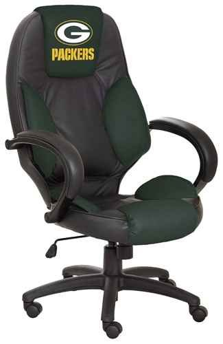 NFL Green Bay Packers Leather Office Chair at Amazon.com