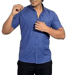 Baaamboos Casual Half Sleeve Rich Cotton Shirt (39)