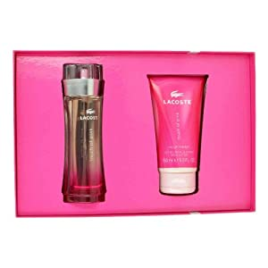 Amazon.com : Lacoste Touch of Pink By Lacoste For Women Gift Set (Eau