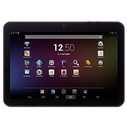 Tablette Android 10.1 pouces Captiva - 16 Go - WiFi - noir