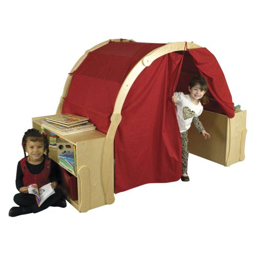 Ecr4Kids Discovery Cove Play Area With Curtains front-943829