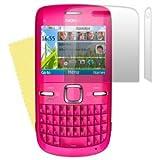 Nokia C3-00 Protector de Pantalla Antideslumbrante/Matte (Pack de 2) + Toallita Microfibra Gratis