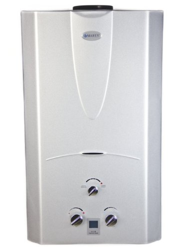 Marey Power Gas 16L 4.3 GPM Natural Gas Digital Panel Tankless Water Heater