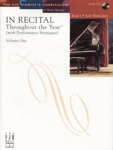 In Recital Throughout The Year (With Performance Strategies) Vol1Bk1
