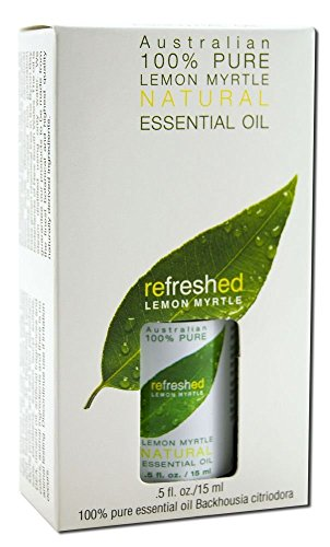 Tea Tree Therapy Lemon Myrtle 100% Natural Essential Oil -- 0.5 fl oz