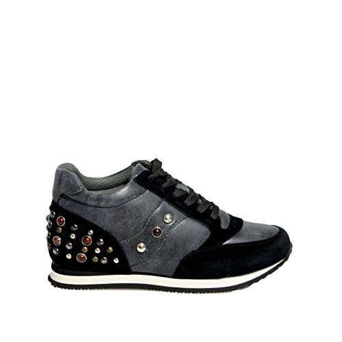 gold&gold - Sneakers pietre black - 37, Black