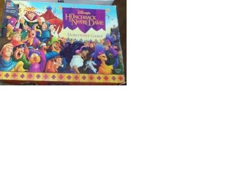 Disney's The Hunchback of Notre Dame Dominoes Game by Milton Bradley