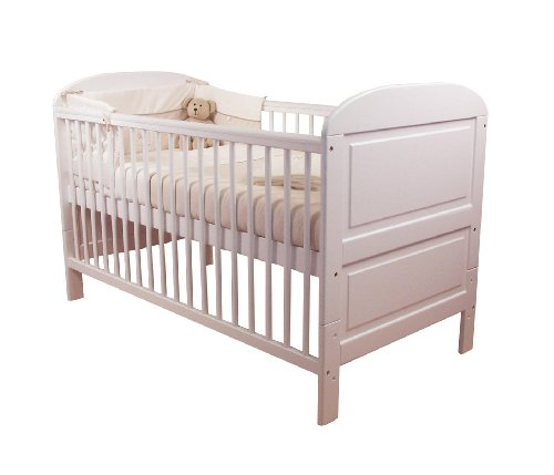 East Coast Angelina Cot Bed (White)