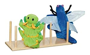 Kid's Play Puppet Holder from Wood Designs
