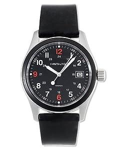 Hamilton Men's H68421333 Khaki Field Black Dial Watch