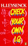 Check Your Own I.Q. (0140135065) by Eysenck, Hans J.