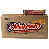 3 Musketeers Chocolate Candy Bar - 36 ct.