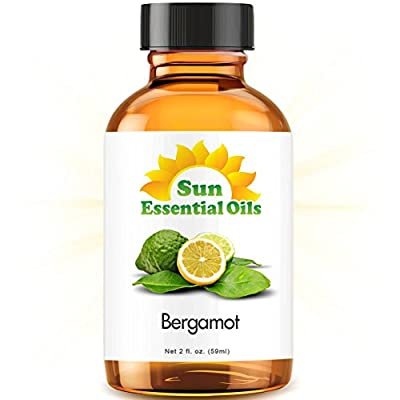 Best Cheap Deal for Bergamot (2 fl oz) Essential Oil 100% Pure -- Best 2 ounces (59ml) from Sun Organic - Free 2 Day Shipping Available