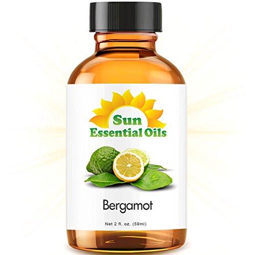 Bergamot (2 fl oz) Essential Oil 100% Pure -- Best 2 ounces (59ml)