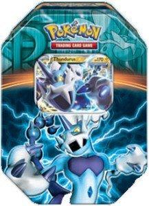 Pokemon Black & White - Fall 2013 Legendary Tin Thundurus-EX