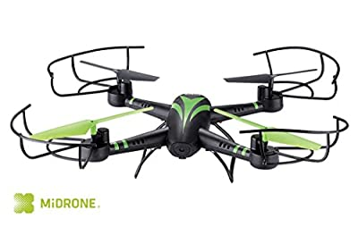 MIDRONE SKY 100 HD Quadcopter Drone 2MP HD Camera 6 Axis Gyro 2.4Ghz Remote 360 3D Flip Return Home Auto Take Off & Landing by Midrone