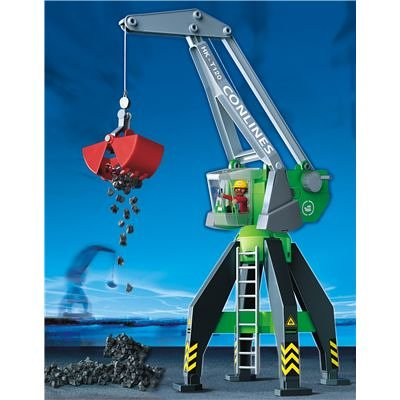 Port 4470: Harbour Crane - Playmobil