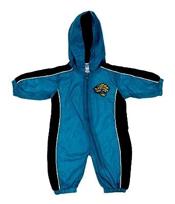 Jacksonville Jaguars NFL Infants Hooded Wind Coveralls, Teal & Black by NFL-Kids