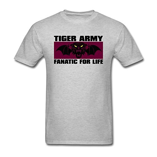 Gerlernt Men's Tiger Army Band Logo T-shirt M ColorName Tee