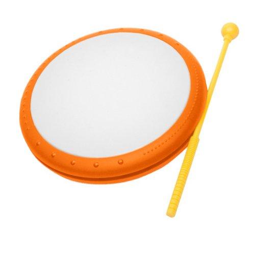 Hohner Kids Hand Drum Musical Toy, Orange
