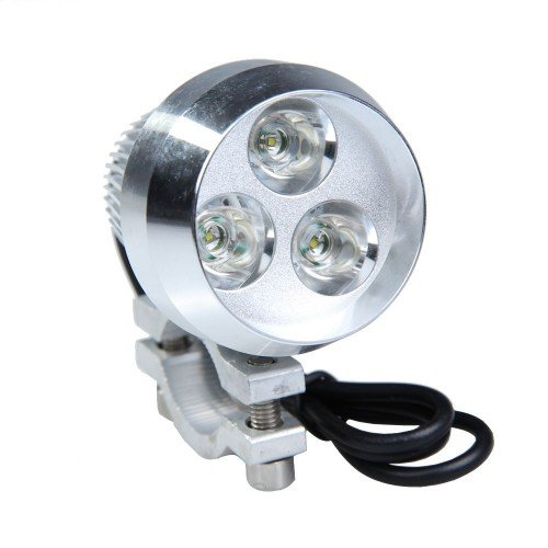 Best Plus 15W 1200Lm Ultra Bright 3-Led Waterproof Spotlight For Car Motorcycle Truck