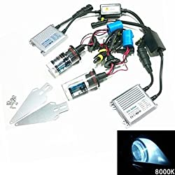 See 12V 35W 9004/9007-2 8000K HID Xenon Lamp Conversion Kit Set With Mounting Bracket (Hyper Slim Silver Ballast) Details