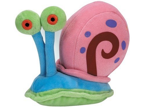 Ty Beanie Baby Gary The Snail, Spongebob Squarepants back-993269