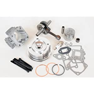 See 44mm BIG Bore TOP END KIT for Pocket Bike 49cc 2 Stroke Stage 3 Full size and View details
