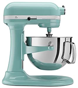 kitchenaid stand mixer kp26m1xaq aqua sky color large