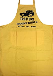 Trotters Independent Cooking Co. BBQ Apron (Yellow).