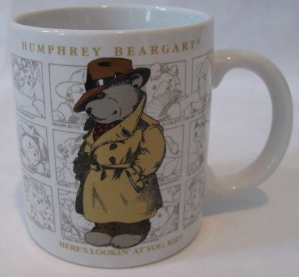 Humphrey Beargart Coffee Cup Teddy Bear Mug Collectible