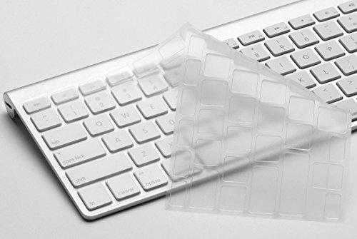 "Nsstar Premium Ultra Thin Keyboard Skin Cover Protector For 13"" & 15"" Imac, 13"" & 15"" Macbook Pro, 13"" & 15"" Macbook Air Keyboard"