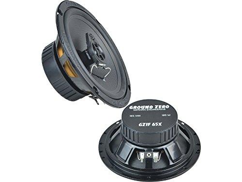 Ground-Zero-Iridium-Lautsprecher-Koax-System-240-Watt-VW-Lupo-98-2005-Einbauort-vorne-Tren-hinten