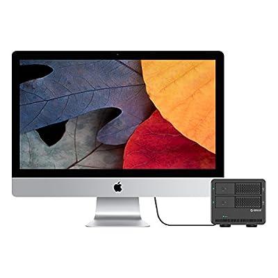 ORICO 9528U3 Aluminum Tool Free 2 bay 3.5 inch SATA to USB3.0 - Black