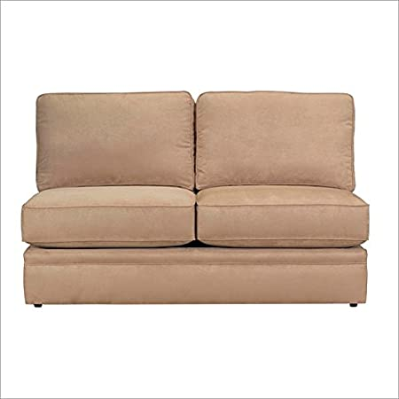 Broyhill Veronica Armless Loveseat, Wheat