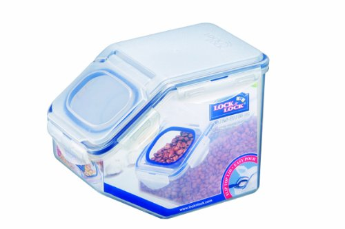 Lock & Lock Rectangular Food Container, 2-1/2-Liter With Flip Lid