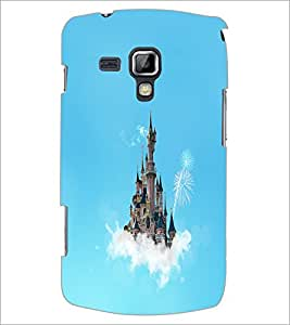 PrintDhaba Flying Castle D-1066 Back Case Cover for SAMSUNG GALAXY S DUOS 2 S7582 (Multi-Coloured)