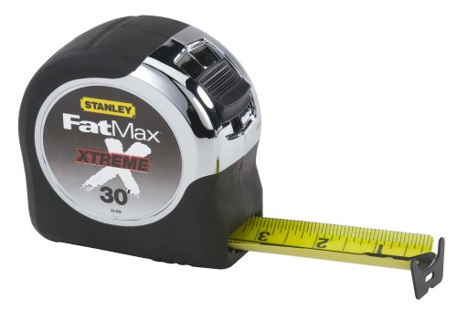Stanley 33-895 FatMax Xtreme Short Tape, 1-1/4-Inch by 30-Feet